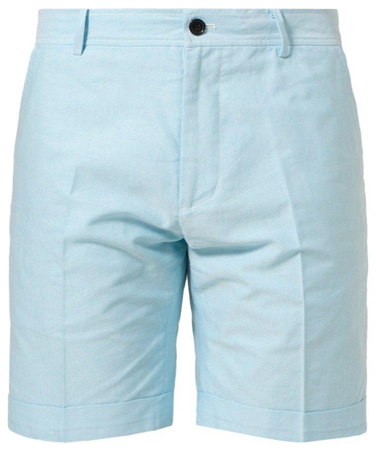 Blå shorts fra Villain