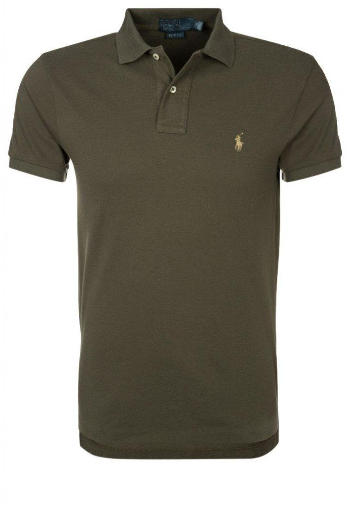 Polo T-Shirt Oliven