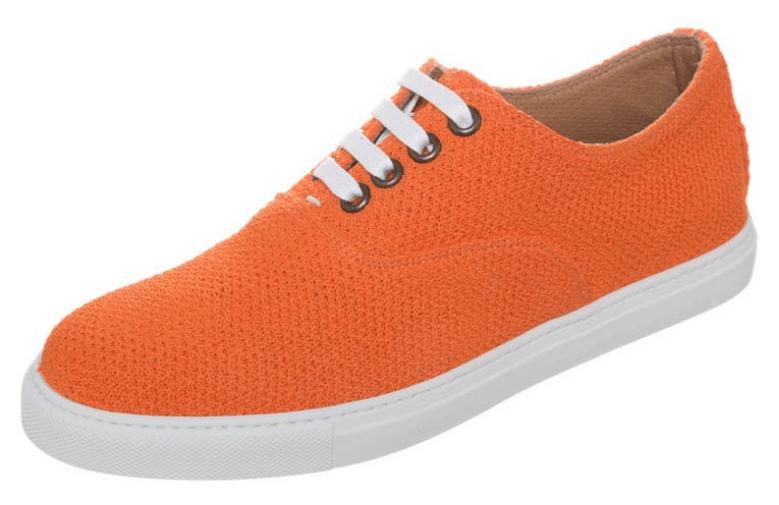 marc jacobs sneakers i orange