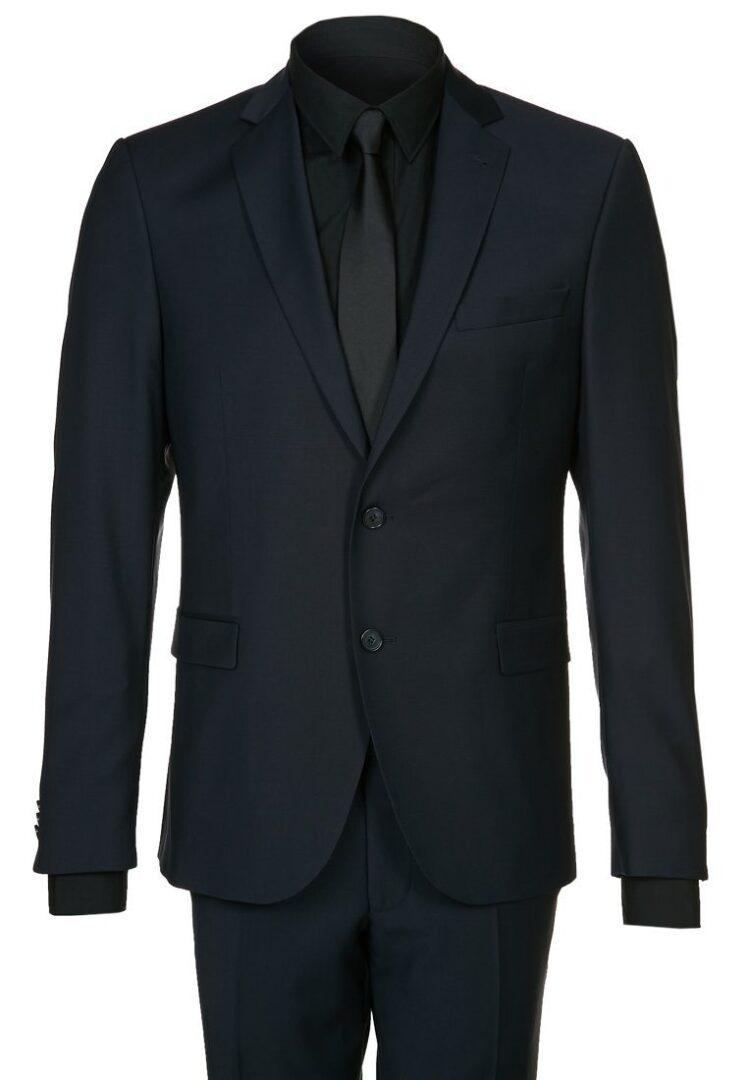 blåt jakkesæt til mænd