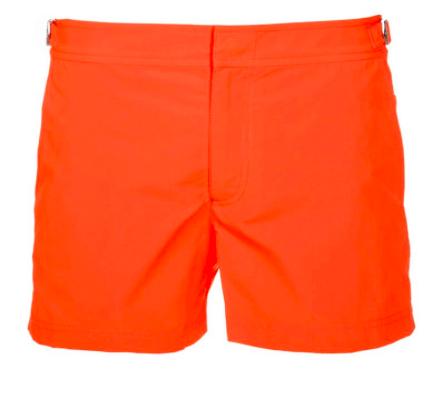 orange badeshorts til mænd
