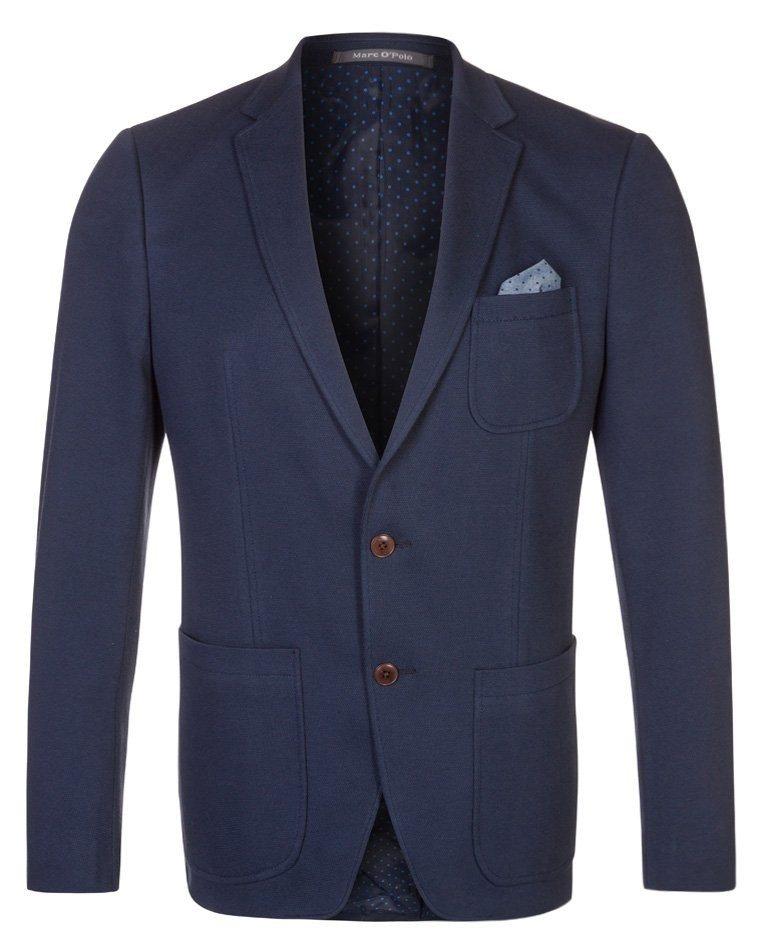 blå blazere