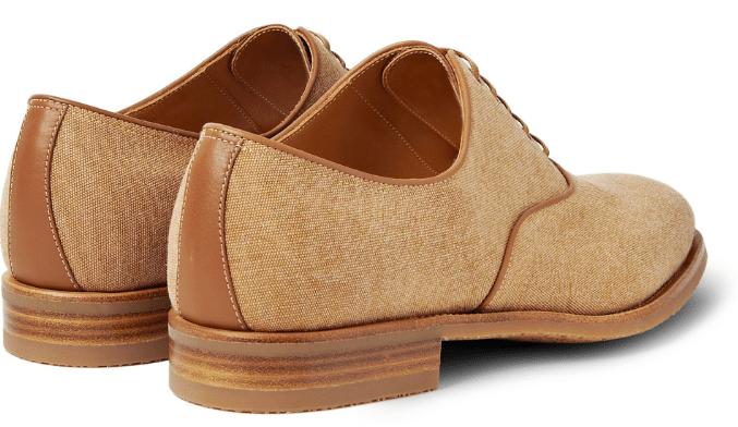 0814d430d18 håndsyede sko beige john lobb 3 - Stay Classy