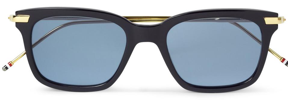 thom browne solbriller blå