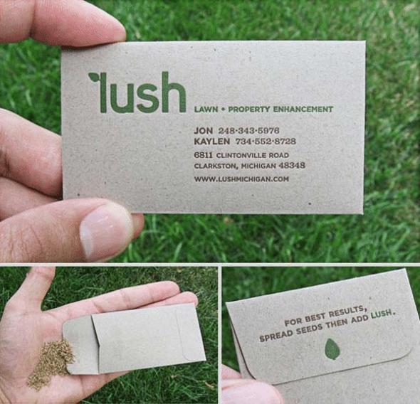 kreative visitkort