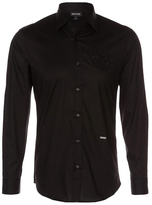 sort skjorte til mænd