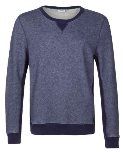 blå sweatshirt fra J Lindeberg