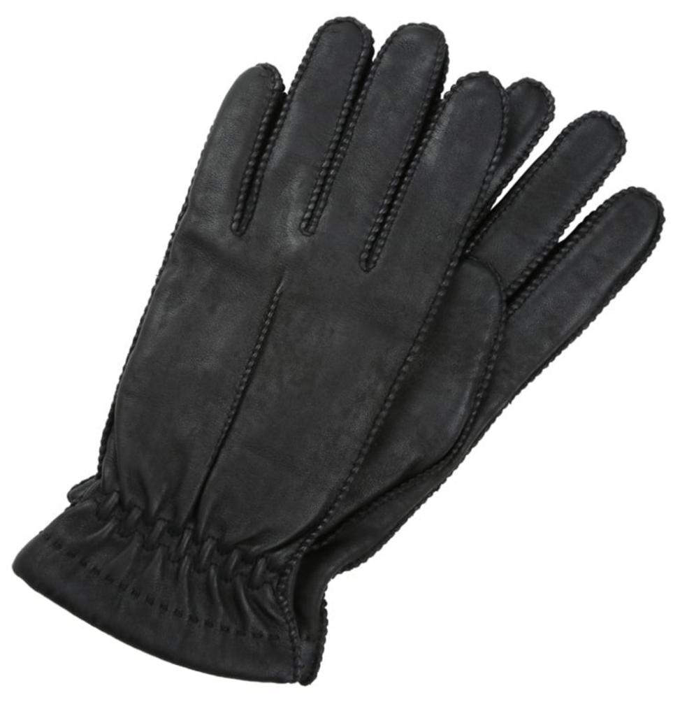 elegante læderhandsker