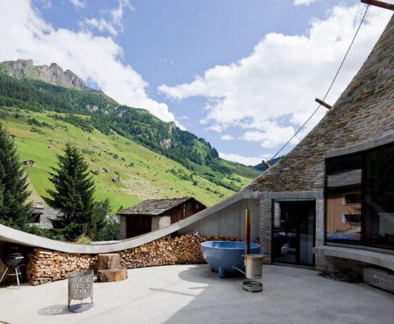 alpehytte i schweiz