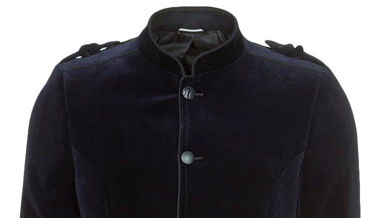 Elegant blå blazerjakke fra Lagerfeld