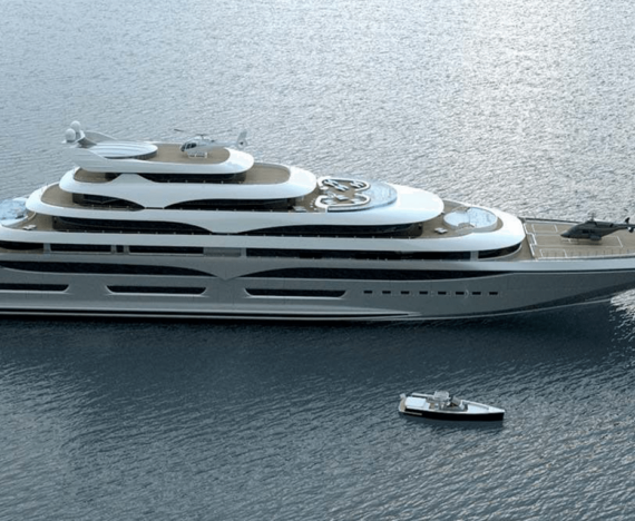 Verdens vildeste yacht til 2.8 milliarder kroner