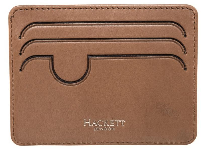 visitkortetui læder brun