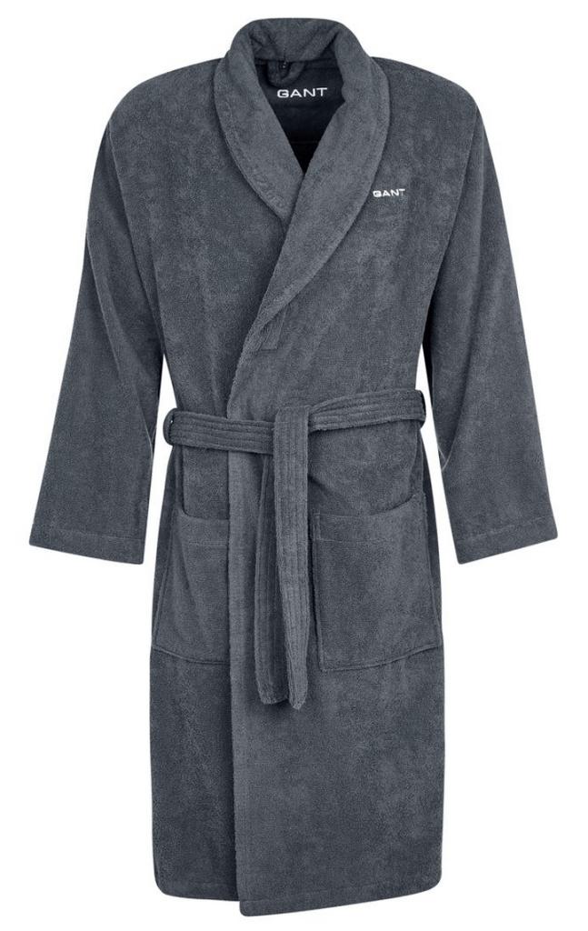 Grå badekåbe gant