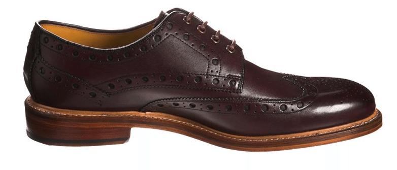 sorte sko til mænd oliver sweeney
