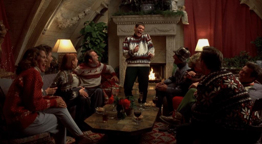 episke striktrøjer til julen
