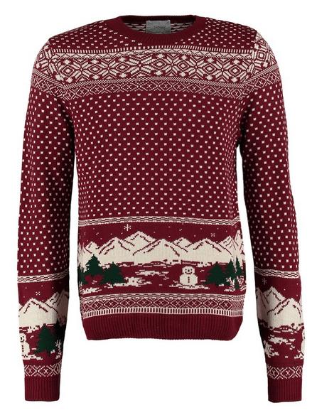 trøje med julemotiv