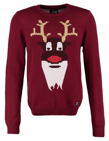 sweater med julemotiv