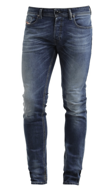 blå jeans til mænd