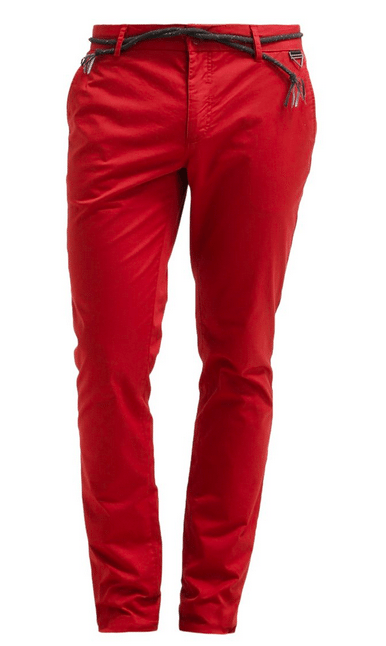 røde bukser til mænd