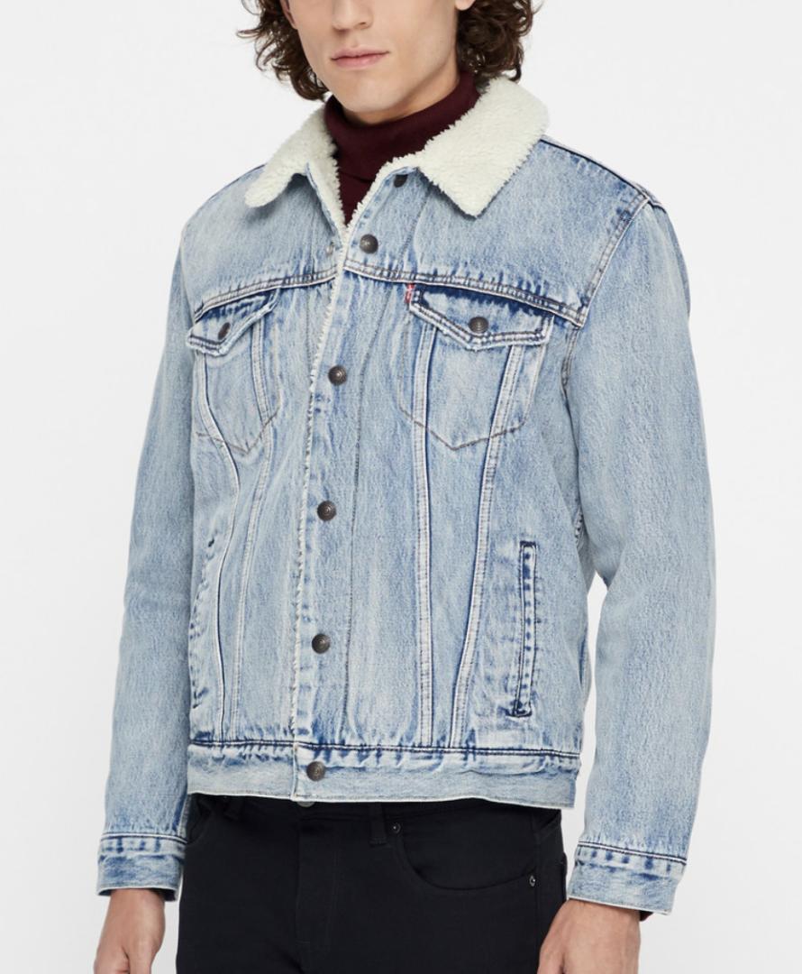 5a475d10 lys blå levi's denim jakke - Stay Classy