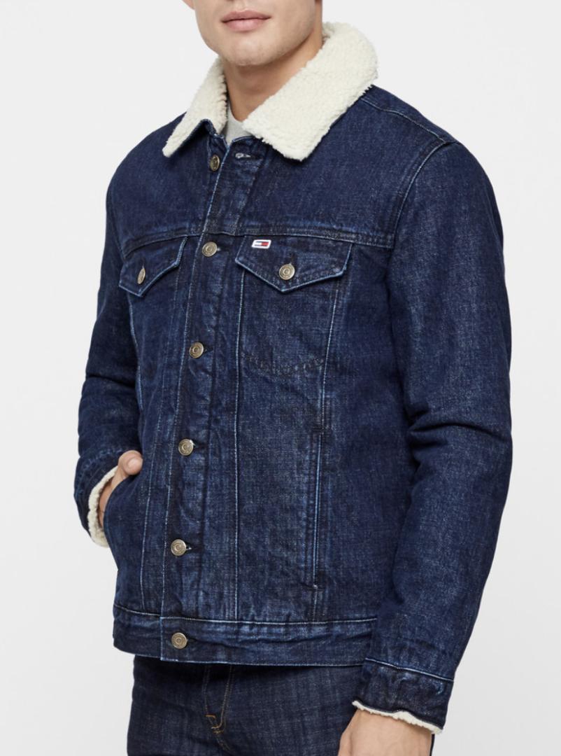 fede denim jakker til mænd