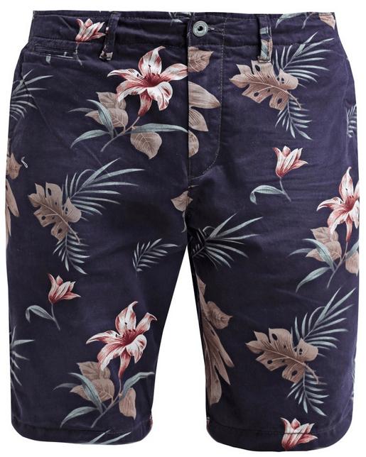 blomstrede shorts til mænd
