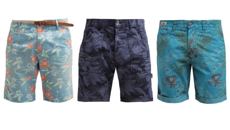 9 blomstrede shorts til mænd – sommeren er nu