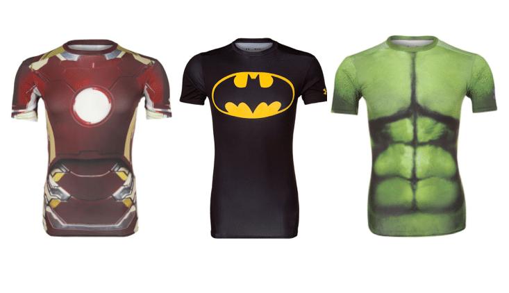Løbe t shirt til herren der elsker superhelte Stayclassy.dk