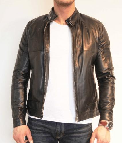billige læderjakker og skjorter til mænd
