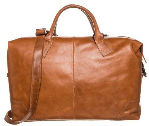 læder rejsetaske til mænd