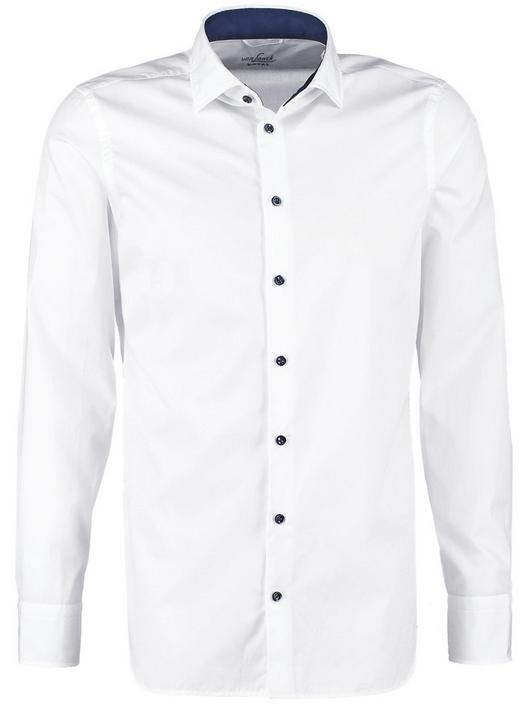 hvid skjorte til mænd