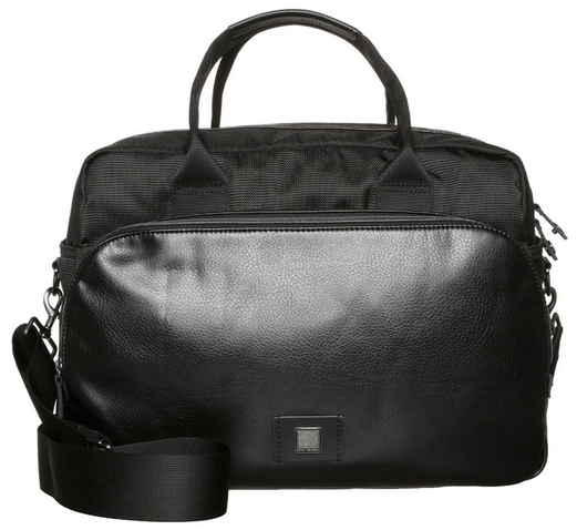 hugo boss læder taske