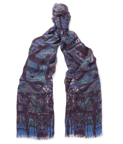 kashmir halstørklæde