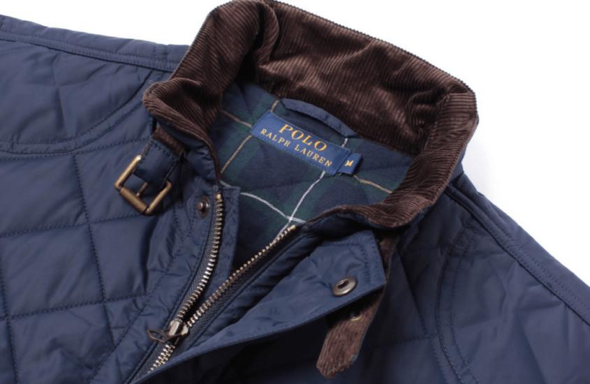 Blå Ralph Lauren vest – den eneste vest du har brug for