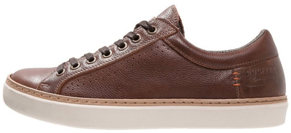 new products 04084 767fd Klassiske sneakers i mørkebrun læder