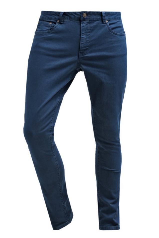 billige marineblå jeans
