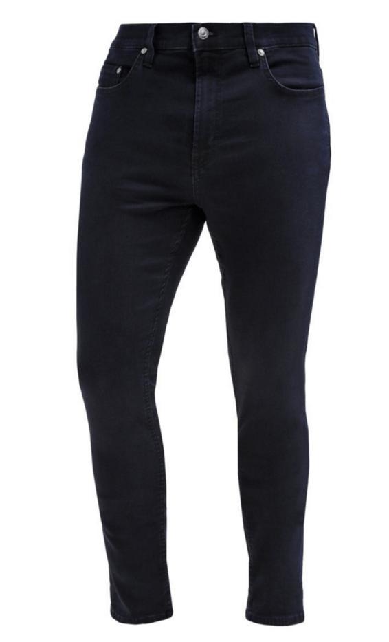stilrene mørkeblå jeans