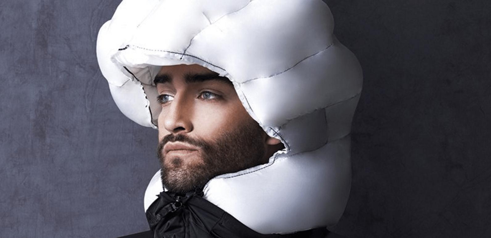 høvding hjelm