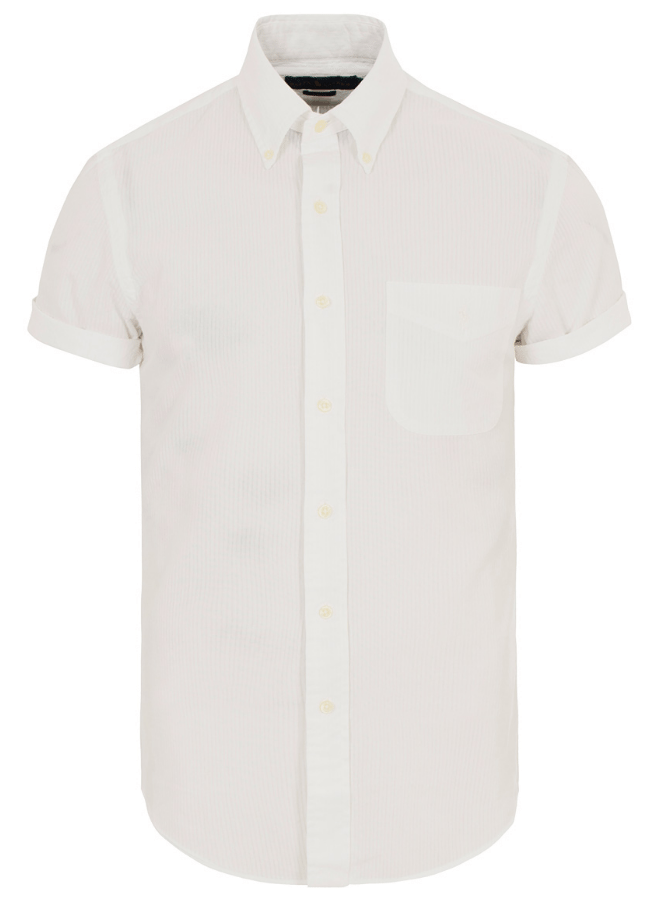 kortærmet skjorte mænd