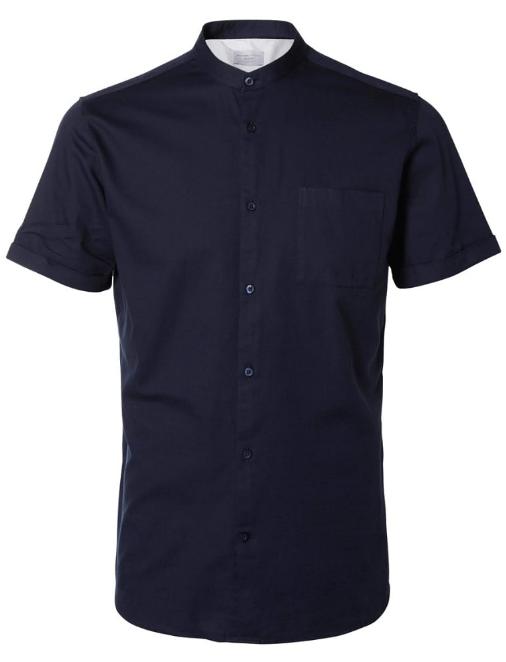 kortærmede herreskjorter