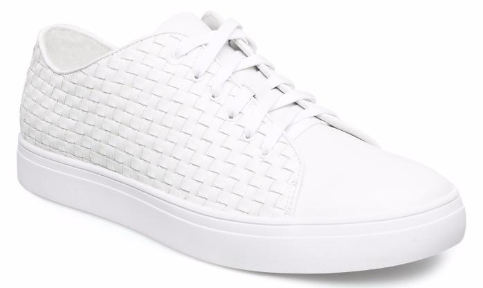 hvide læder sneakers