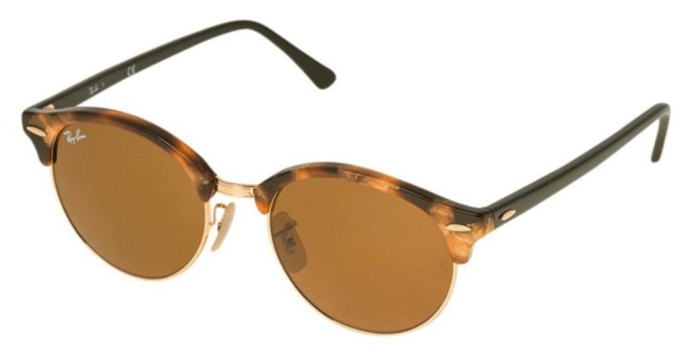 dd3b06269a3d runde lysebrune ray-ban solbriller - Stay Classy