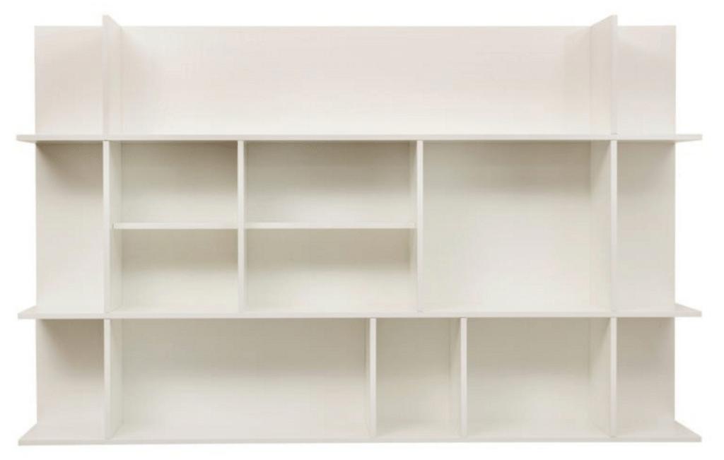 bogreoler væg