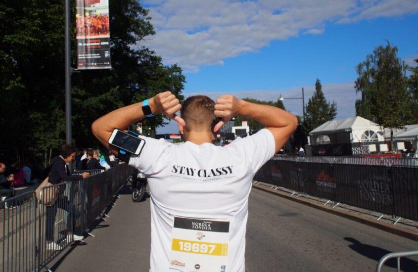 Halvmarathon og 34 dage uden alkohol
