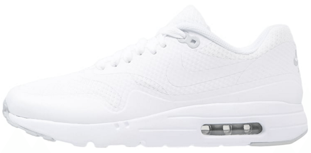 huge discount fb2bf 4ac2a Hvide Nike Air Max 1 sneakers. fede hvide nike sneakers herre