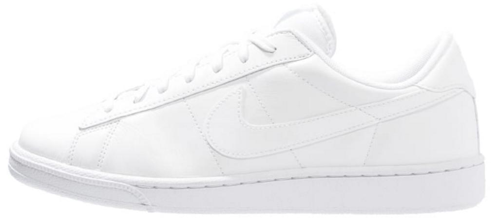 fede hvide nike sneakers herre