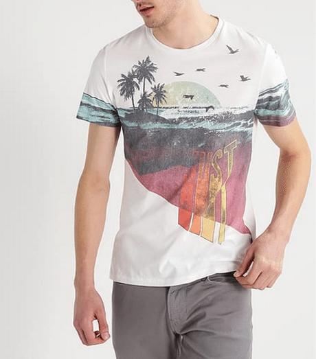 karismatiske t-shirt sommer mænd