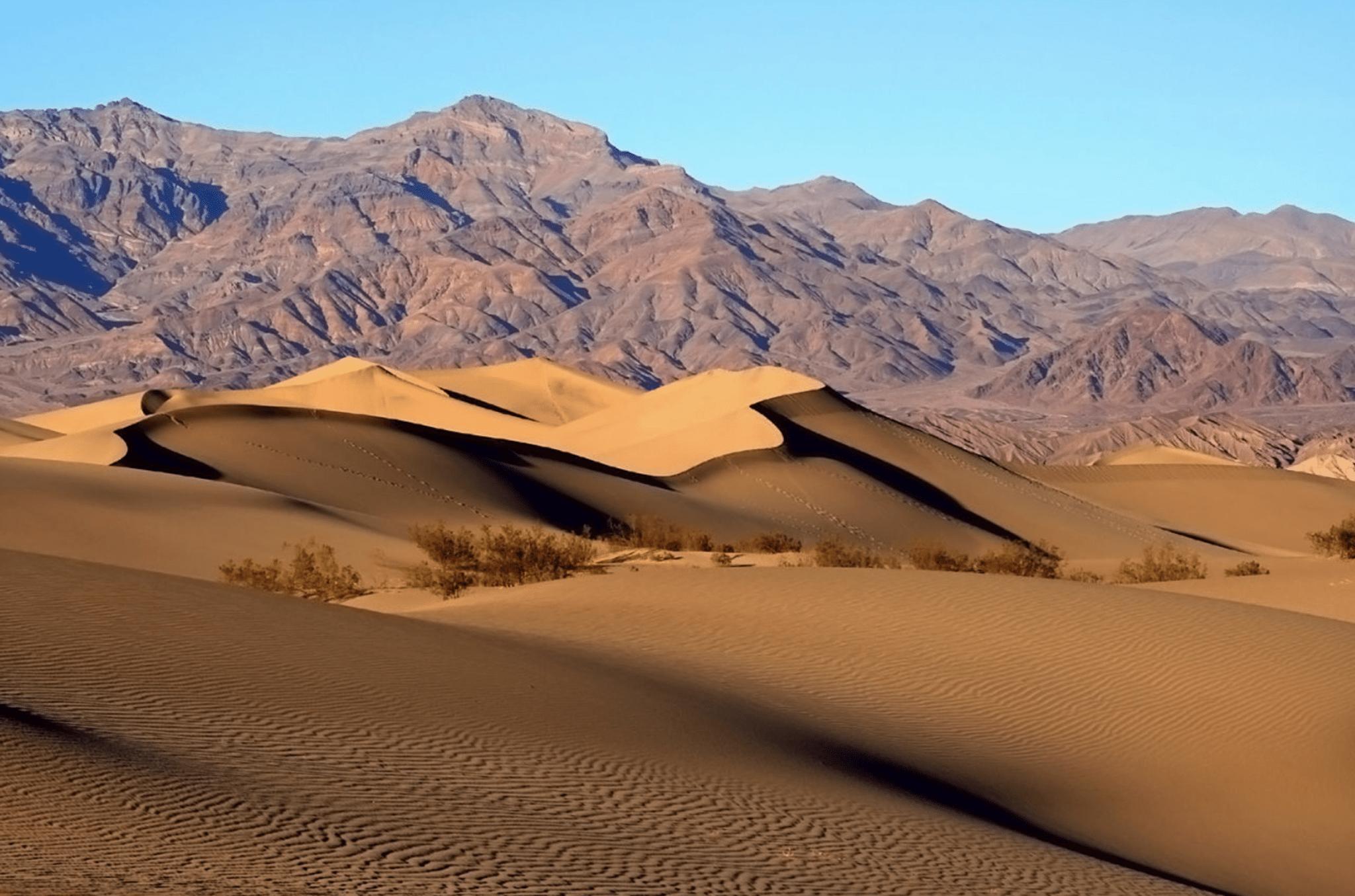 sand desert death valley