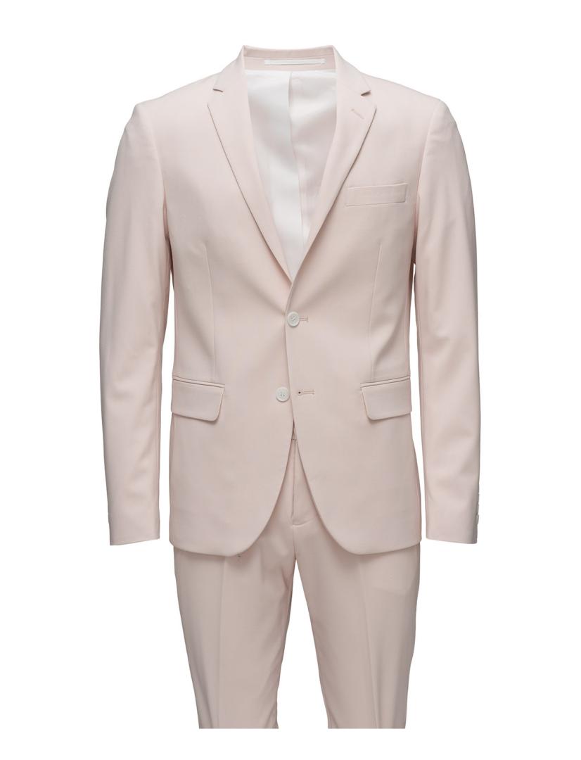 lyserødt jakkesæt