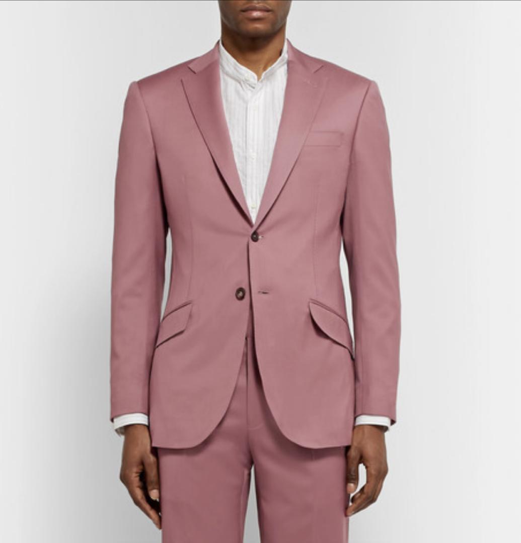 Richard James lyst jakkesæt i lyserød
